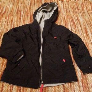 Boys 7 fully reversible jacket coat